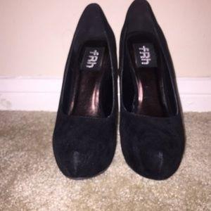 Carey Black Velvet Stilettos